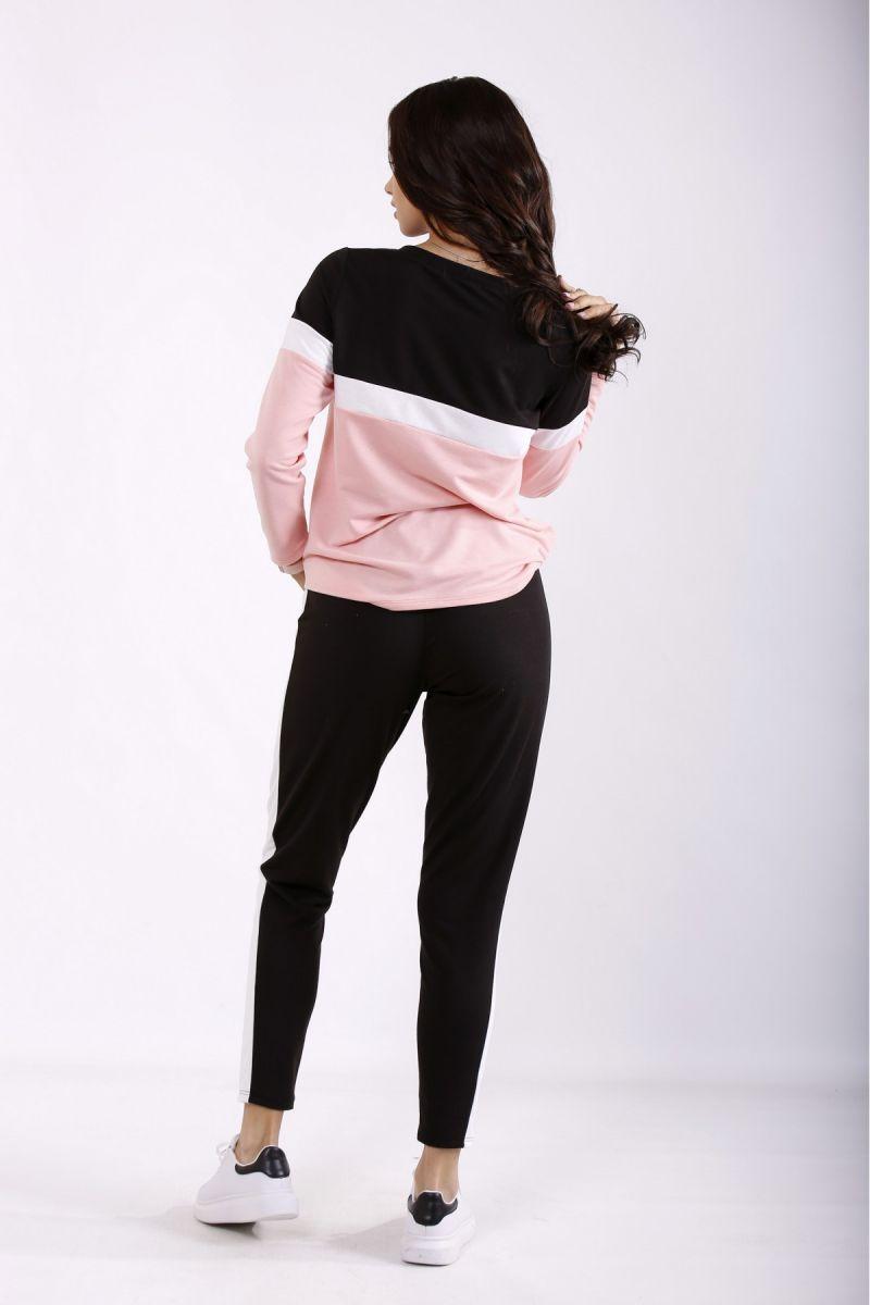 Спортивный костюм розовый 00-133701 - Victorya-Shop.com