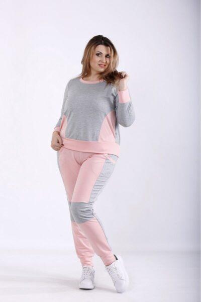 Спортивный костюм с розовый 00-133696 - Victorya-Shop.com