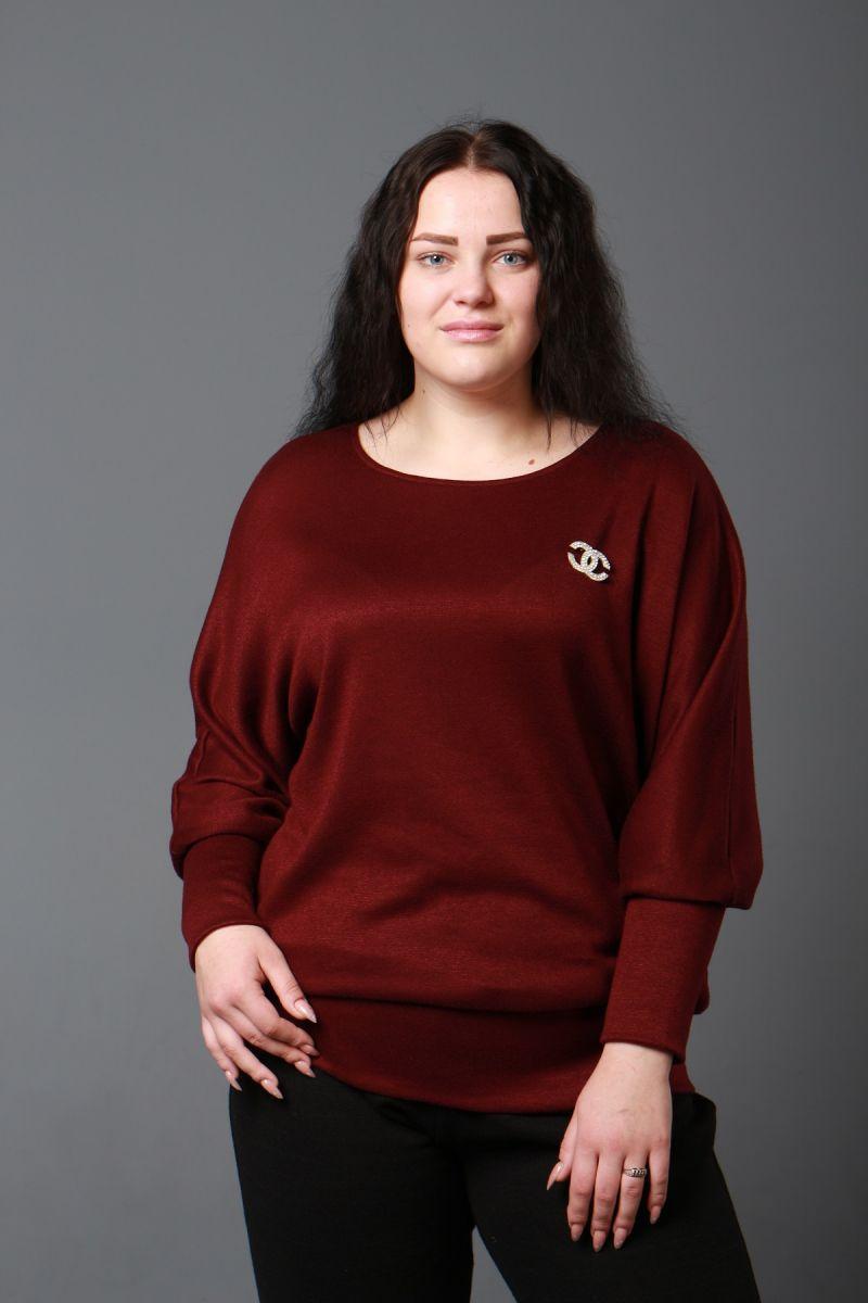 Теплая туника из качественной королевской ангоры доступно в цвете 000-593 - Victorya-Shop.com