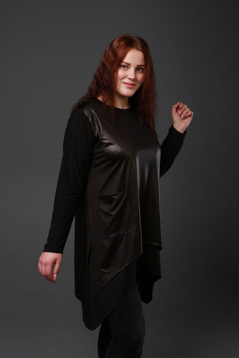 Туника большого размера Наргиз 000-323 - Victorya-Shop.com