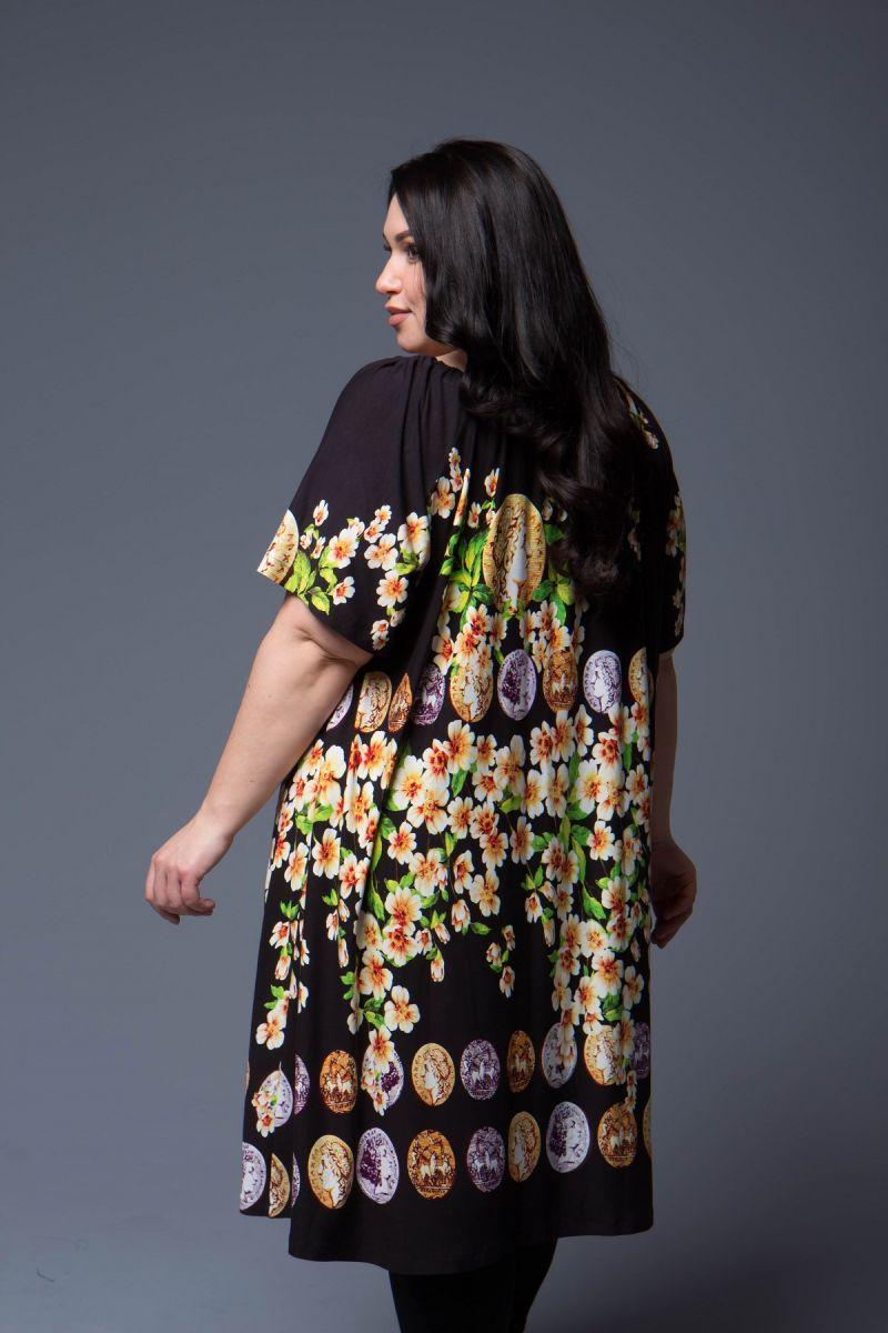 Туника - платье замена основного цвета доступна в цвете 000-695 - Victorya-Shop.com